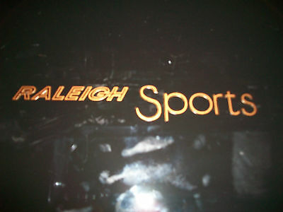 Vintage Raleigh Sports Bicycle Chain Guard Decal