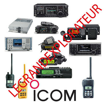 Ultimate  ICOM  Repair, Service Manuals   (415  PDFs manual s on DVD)
