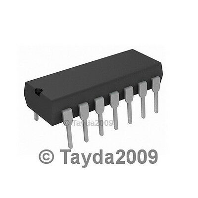 4 IN 2 CMOS THT DIP14 TEXAS INSTRUMENTS digital XOR Kanäle 2X CD4070BE IC