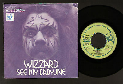"7"" Wizzard See My Baby Jive Germany Original 73 Ex-/m-"