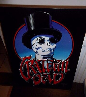 Grateful Dead, Repro Steel Wall Sign, Usa Import
