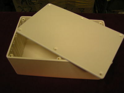 ABS Plastic Box MB4 Electronic Project 216x130x85mm PCB slotted BRITISH OL0679