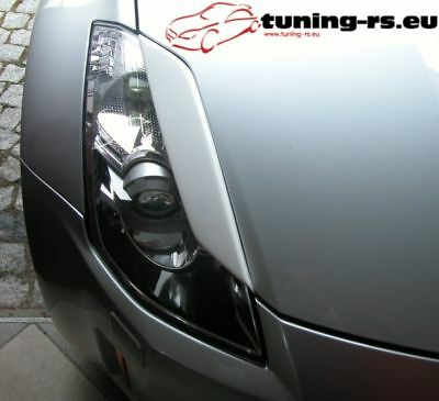 NISSAN 350Z CASQUETTES DE PHARES 350 Z (GFK) tuning-rs