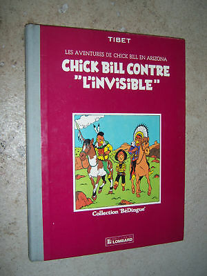 Chick Bill contre l'invisible Lombard Bédingue 1983