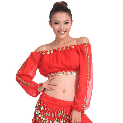 C91600 Belly Dance Bauchtanz Kostüm Oberteil Top