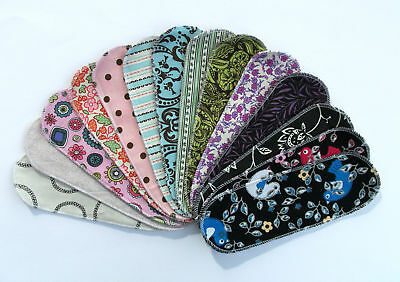 Reusable Cloth Menstrual Pad Panty Liner Mystery Pack10
