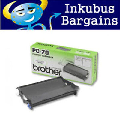 Brother Genuine PC-70 Ink Ribbon Fax T76 T78 T84 T86