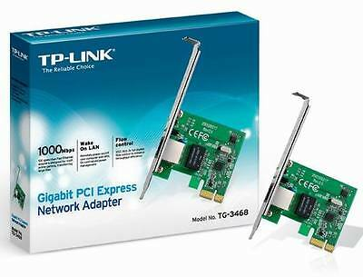 TP-Link TG-3468 PCI Express Gigabit Ethernet NETWORK Adapter CARD PCIE