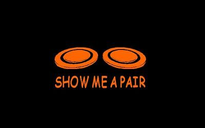 Show Me a Pair-Trap,Skeet,Sporting Clays Decal,Sticker