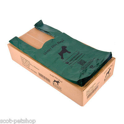 NEW 100% Biodegradable Eco Friendly Dogs Poo Dog Poop Bags BULK BUY 2000