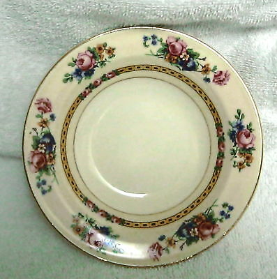 Vintage Edwin Knowles Berry or Dessert Bowl Floral