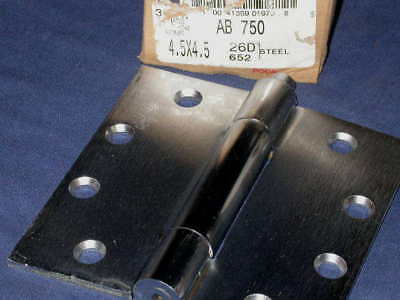 Hinge, Concealed Bearing, Hager AB750 4.5 x 4.5 26D