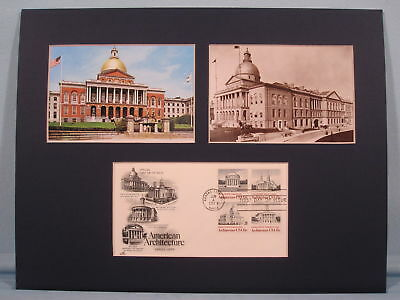 The Massachusetts State House & First Day Cover