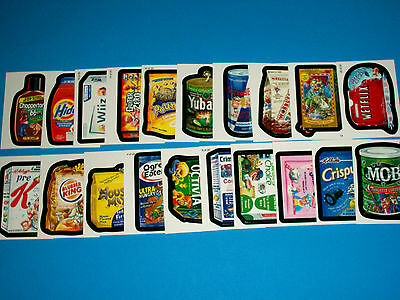 2010 Wacky Packages Complete Set of WACK~O~MERCIALS + More!