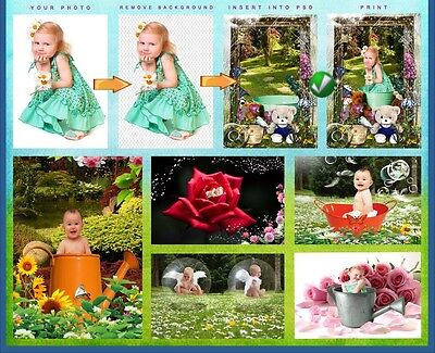 Studio Photography Digital Props Backgrounds Backdrops For Children/babies