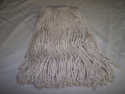 Fifty 4-Ply Cotton Mop Heads Cut End Wet Mopheads