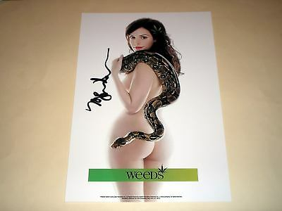 "Mary - Lousie Parker Pp Signed 12""x8"" Poster Weeds"