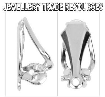 Sterling Silver Earring Clip On Clips Jewellery Making