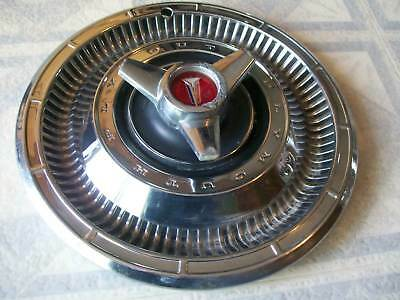 1966 PLYMOUTH  SATELLITE SPINNER HUBCAP/ ONE