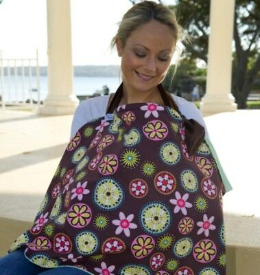 New KissKiss HugHug Breastfeeding Cover Carnival Bloom