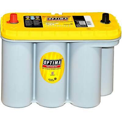 Optima YellowTop YT S 5,5 12V 75Ah Autobatterie AGM Batterie Versorgungs US-Cars