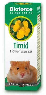 Animal Timid Essence 30ml Pet Flower Remedy Dog Cat Mammal fear insecure natural