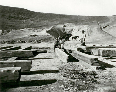 Men Working On Cutting Ties For Echo Tunnel 1868