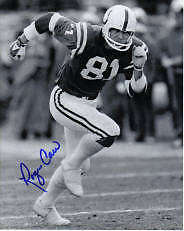Roger Carr Signed Baltimore Colts 8X10 #1