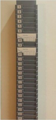 25 Slot Time Card Rack