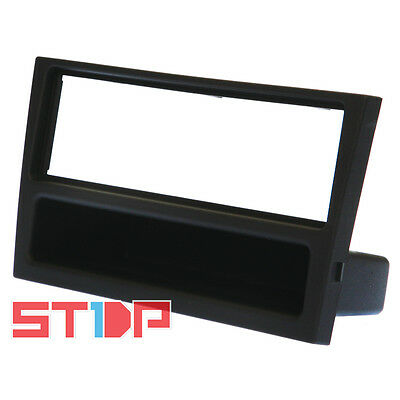 HOLDEN BARINA XC 2001-2005 BLACK SINGLE-DIN FACIA KIT fascia panel dash pocket