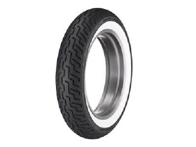 Dunlop D402 MT90B16 Wide White Wall Harley Front Motorcycle Tire