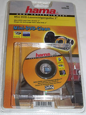 "Hama 049640 Mini DVD 3"" Lens Laser Cleaner"