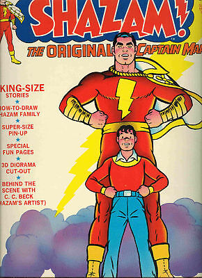 SHAZAM  LImited Collector's  ed C-21 COMIC  Reprint