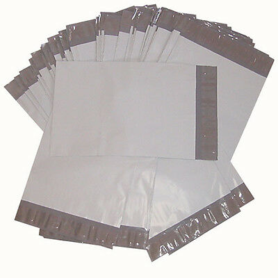 100 EACH 9x12 & 10x13 POLY MAILERS ENVELOPES POLY BAGS PLASTIC SELF SEALING TYPE
