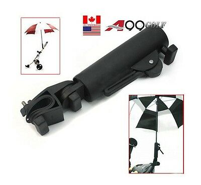 swivel golf umbrella holder head stand cart and fishing