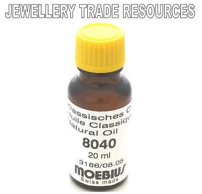 Moebius Oils Watch And Clock Lubricant Natural 8040