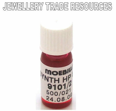 MOEBIUS OILS WATCH AND CLOCK LUBRICANT SYNT-HP 500 2ml