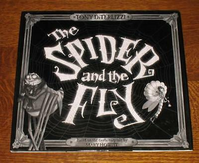 Tony DiTerlizzi THE SPIDER & FLY 1st/1st CALDECOTT WIN!