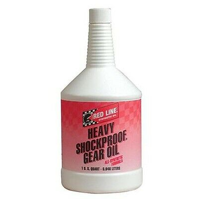 Red Line Synthetic Heavy Shockproof Gear Oil 1 Quart