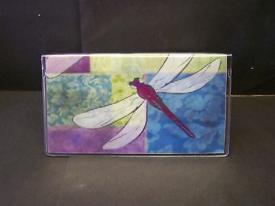 Dragonfly #4  Checkbook Cover