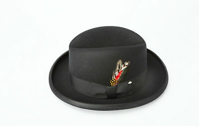 New Men's Godfather Fedora Wool Hat All Sizes & Colors