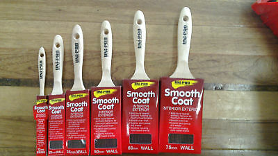 Paint Brush Set Smooth Coat Uni Pro Bulk Bargain