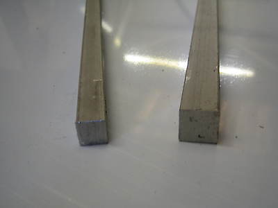 Stainless Steel Square Bar 12mm x 12mm x 495mm  Gr. 304