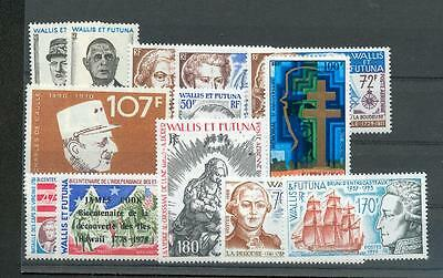 WALLIS+FUTUNA 1971/93 234-35 etc** 150€(N8245