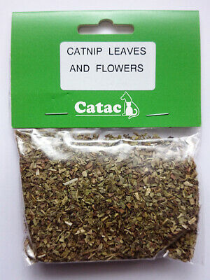 Catac Organic Catnip Leaves & Flowers natural Treat for cats & kittens