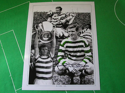 Glasgow Celtic Legend Billy McNeill Signed Montage