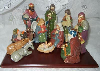 Home for the Holidays 11pc CHRISTMAS NATIVITY Set