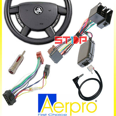 Holden Commodore Vy-Vz Steering Wheel Control Harness + Iso + Patch + Adaptor
