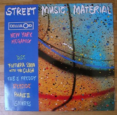 VARIOUS ARTISTS Street Music Material LP/GER