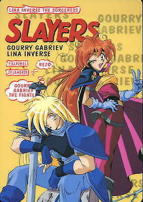SLAYERS Anime Shitajiki Pencil Board LINA & GOURRY #A
